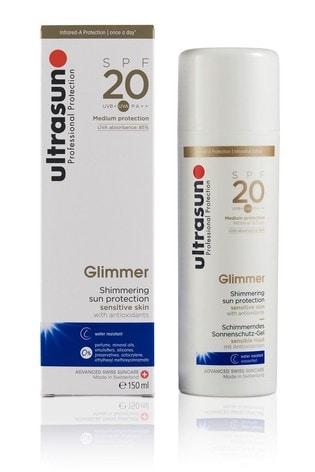 Ultrasun 20 SPF Glimmer 150ml