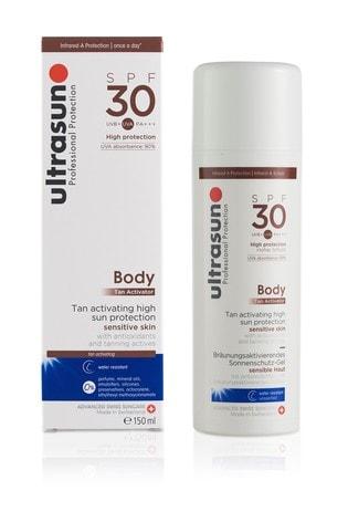 Ultrasun 30 SPF Body Tan Activator 150ml