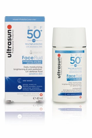 Ultrasun 50 SPF Anti Pollution Daily Face Fluid 40ml