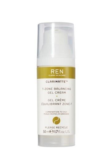 REN Clarimatte T-Zone Balancing Gel Cream