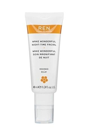 REN Wake Wonderful Night Time Facial 40ml