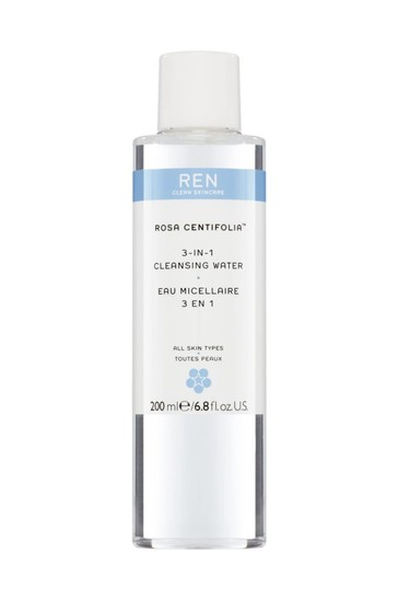 REN Rosa Centifolia 3-in-1 Cleansing Water 200ml