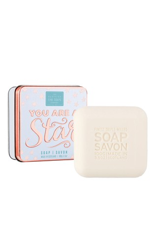 Scottish Fine Soaps Soap in a Tin 100g