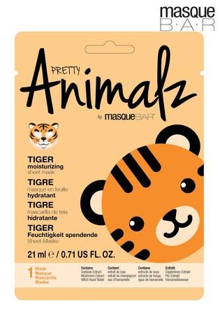 MasqueBAR Pretty Animalz Tiger Sheet Mask