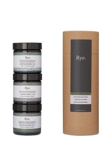 The Brighton Beard Co. Rye 3 Step Skin Care Gift Set