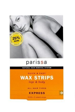 Parissa Wax Strips Legs & Body 16 (8 x 2 Sided) Strips