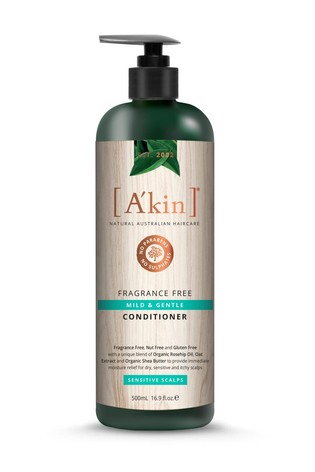 A'kin Fragrance Free Conditioner 500ml
