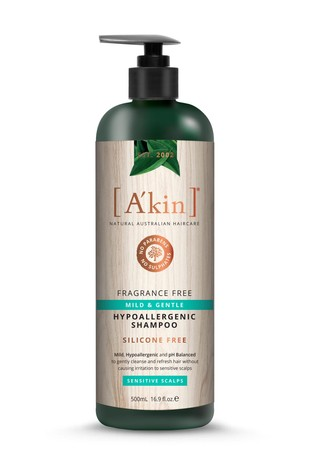 A'kin Fragrance Free Shampoo 500ml