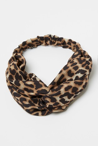 Lipsy Animal Print Printed Headband