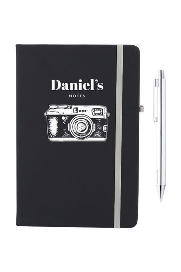 Personalised Camera Notebook by Ice London