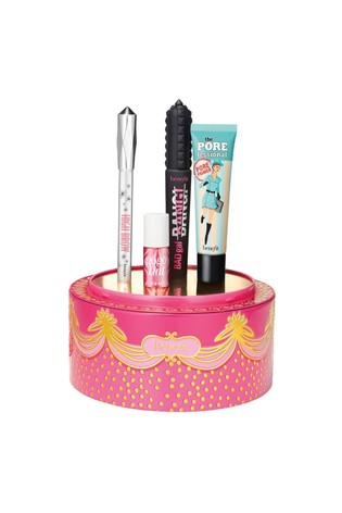 Benefit Triple Decker Decadence Primer, Mascara, Blush & Highlight Gift Set