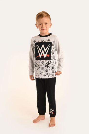 Brand Threads Grey WWE Boys Pyjamas