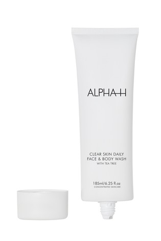 Alpha-H Clear Skin Daily Face and Body Wash with 2% Salicylic and Tea Tree 185ml