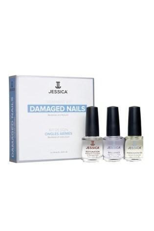 Jessica Nail Solutions Damaged Nails Kit