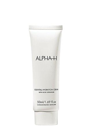 Alpha-H Essential Hydration Cream with Rose Geranium and Vitamin E 50ml