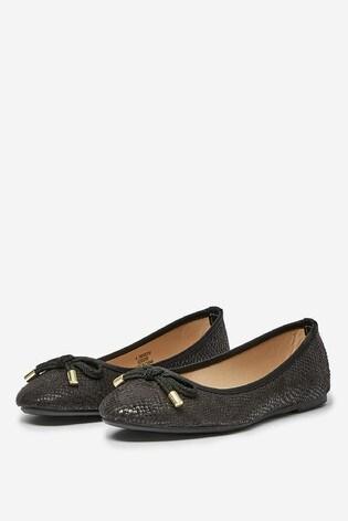 Dorothy Perkins Snake Ballerina Pump  Shoe
