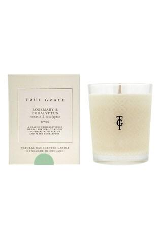 True Grace Classic Candle Rosemary & Eucalyptus