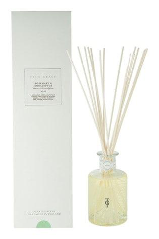 True Grace 200ml Reed Diffuser Rosemary & Eucalyptus
