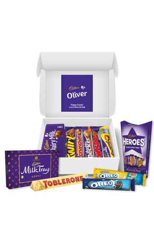 Personalised Cadbury Chocolate Family Hamper by Yoodoo