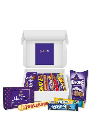 Personalised Cadbury Chocolate Family Hamper by Yoodoo