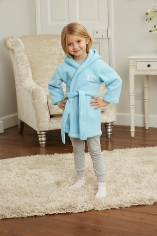 Personalised Toddler/Junior Fleece Dressing Gown by Forever Sewing