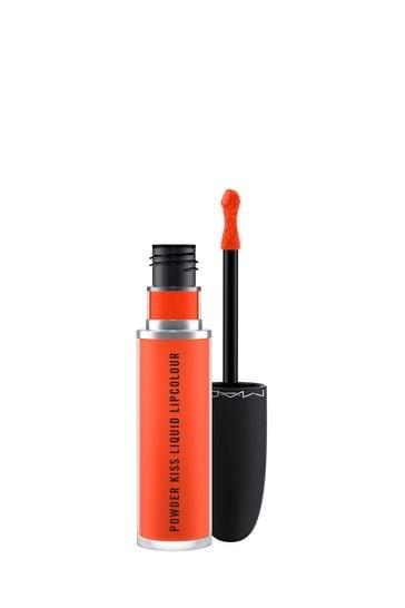 MAC Powder Kiss Liquid Lipcolour