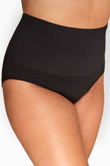 Yours Black Curve Slimming Briefs