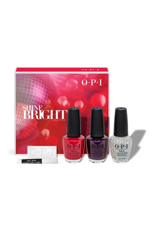 OPI Nail Polish Shine Bright Gift Set (Worth £41)
