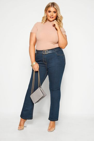 """Yours Curve 34"""" Bootcut ISLA Jeans"""