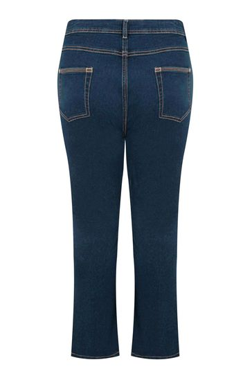 """Yours Blue Curve 30"""" Bootcut Isla Jeans"""