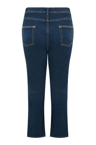 """Yours Blue Curve 32"""" Bootcut Isla Jeans"""