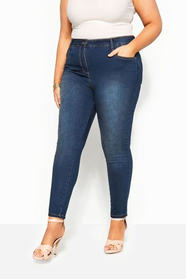 "Yours Curve 30"" Skinny Stretch AVA Jeans"