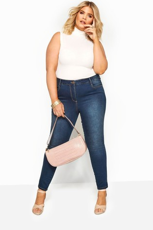 """Yours Curve 28"""" Skinny Stretch AVA Jeans"""