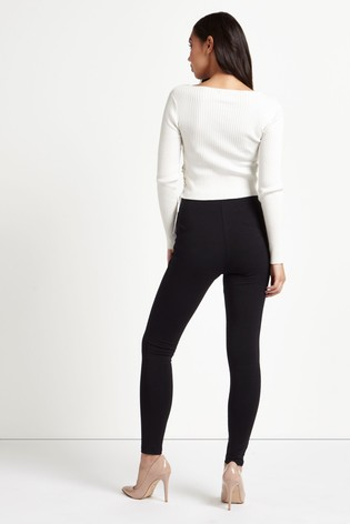 Lipsy Black Tall High Waist Legging