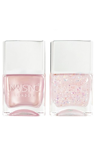 Nails INC The Future Is Fairy Nail Polish Duo