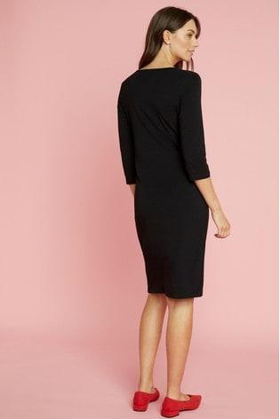 Mamalicious Maternity Jersey ¾ Sleeve Dress