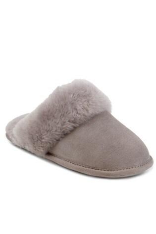 Buy Just Sheepskin Cuff Mules Slippers