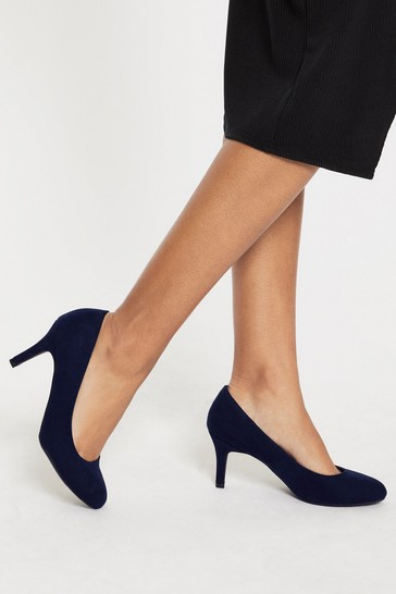 Lipsy Blue Low Heel Courts