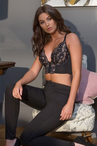 Pour Moi Black Amour Underwired Bralette