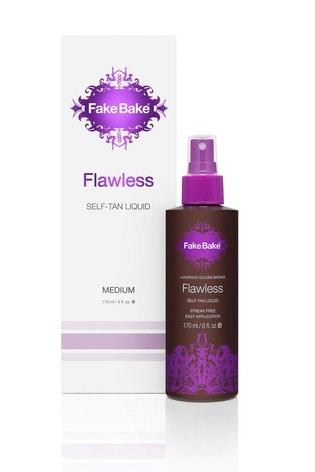 Fake Bake Flawless Medium Self Tan Liquid 170ml With Mitt