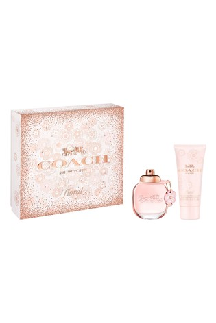 COACH Floral Eau de Parfum 50ml & Body Lotion 100ml Gift Set