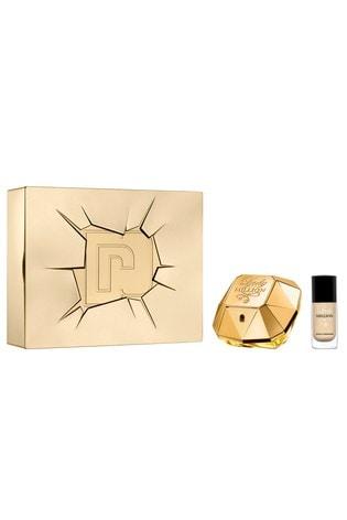 Paco Rabanne Lady Million Eau de Parfum 50ml & Nail Varnish Gift Set