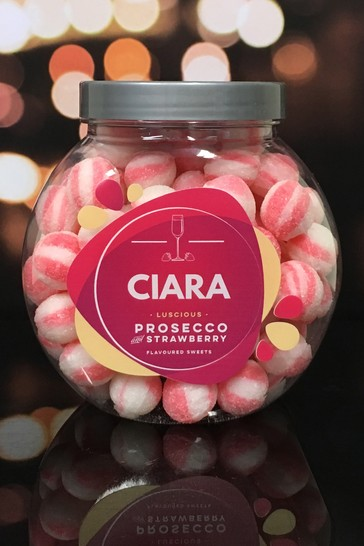 Personalised Strawberry & Prosecco By Great Gifts