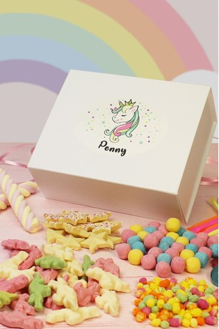 Personalised Unicorn Sweet Box By Great Gifts