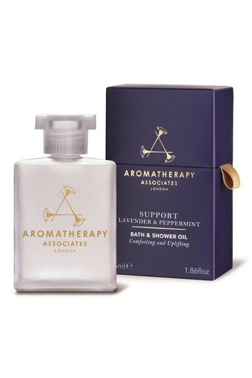 Aromatherapy Associates Support Lavender & Peppermint Bath And Shower Oil 55ml