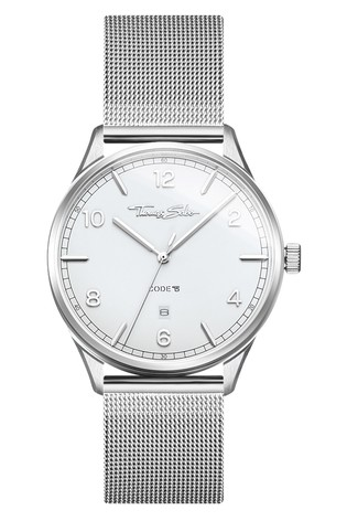 Thomas Sabo Silver 'Code TS' Unisex Watch