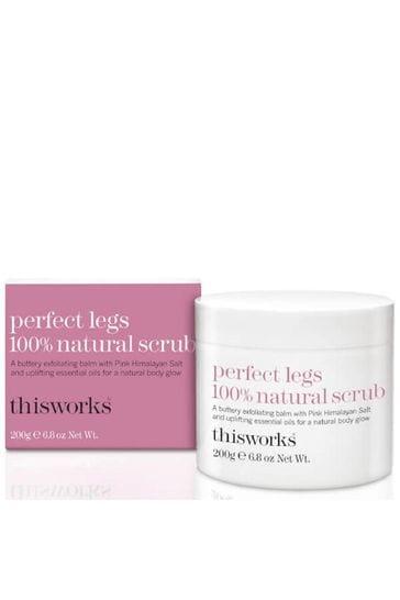 This Works Perfect Legs 100% Natural Scrub 200ml