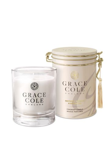 Grace Cole Nectarine Blossom & Grapefruit 200g Candle
