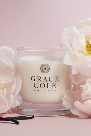 Grace Cole Vanilla Blush And Peony 200g Candle