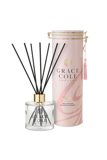 Grace Cole Vanilla Blush Peony Reed Diffuser